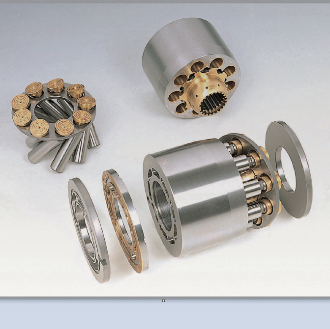 Daikin Hydraulic Pump Parts PVD21 PVD22 PVD23 PVD24