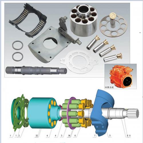 Sauer Hydraulic Pump Spare Parts PV90M030 PV90M042 PV90M055