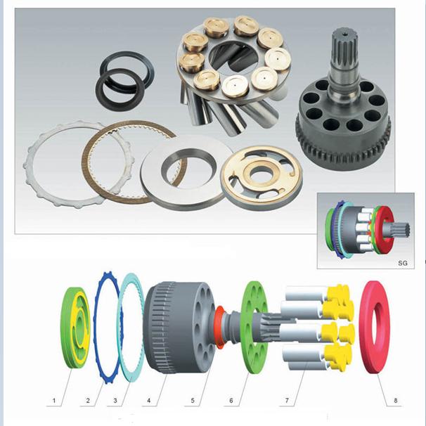 Toshiba Hydraulic Pump Parts SG015 SG02 SG025 SG04 SG08 SG12
