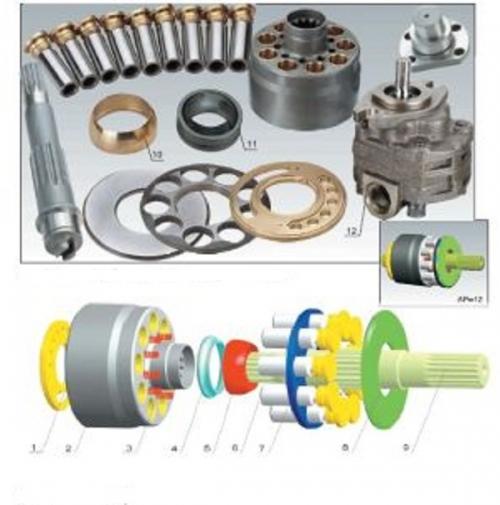Caterpillar Hydraulic Pump And Motor Parts CAT320 Cat AP-12