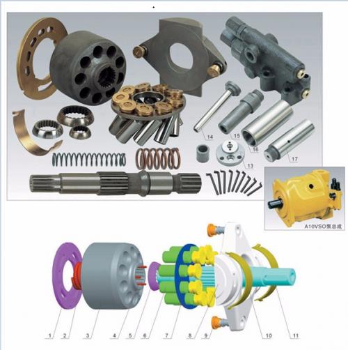 Rexroth Hydraulic Pump And Motor Parts A10VSO10 A10VSO18 A10VSO28